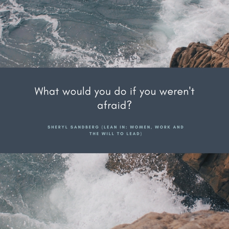 What would you do if you weren't afraid_